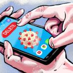 تبلیغات در اینستاگرام و پیام رسانها بر علیه کرونا